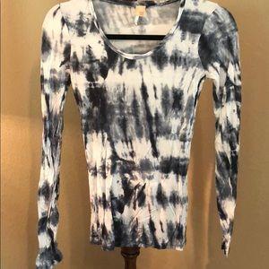 BKE Long Sleeve Burnout Shirt